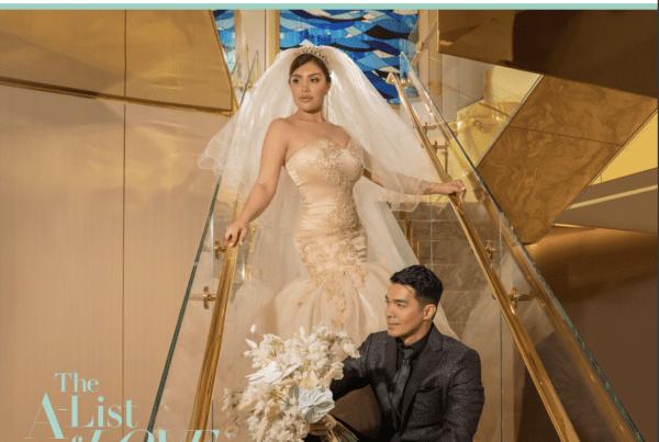 Wedding Photoshoot Woman With a Beautiful dress