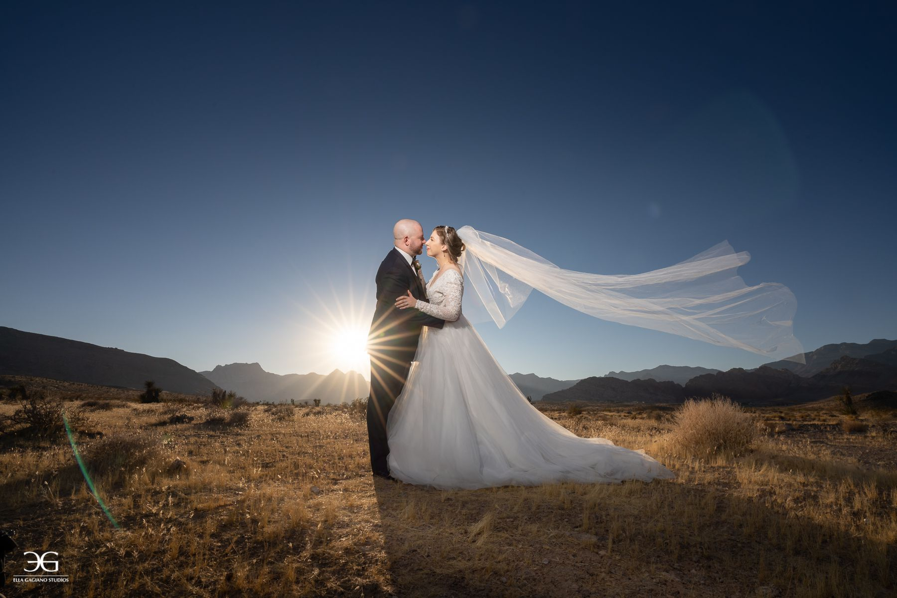 red rock wedding photography
